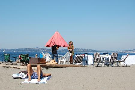 Alki Beach Party in Seattle
