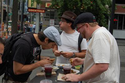 Eating Street Food