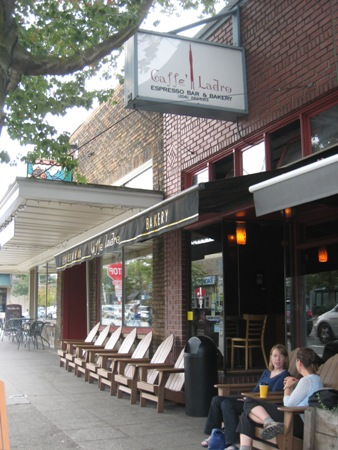 The original Caffe Ladro on Upper Queen Anne hill.