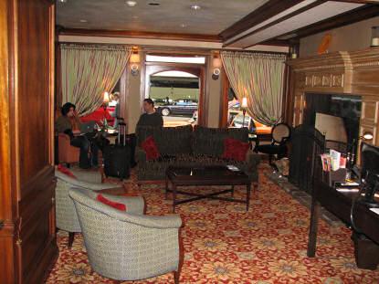Vintage Park Hotel Lobby Seattle