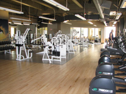 Hyatt Bellevue Gym