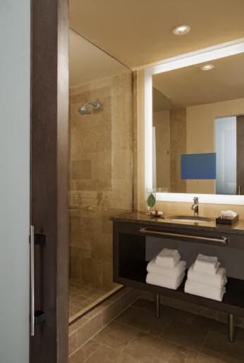 Olive 8 Seattle Hotel Bath